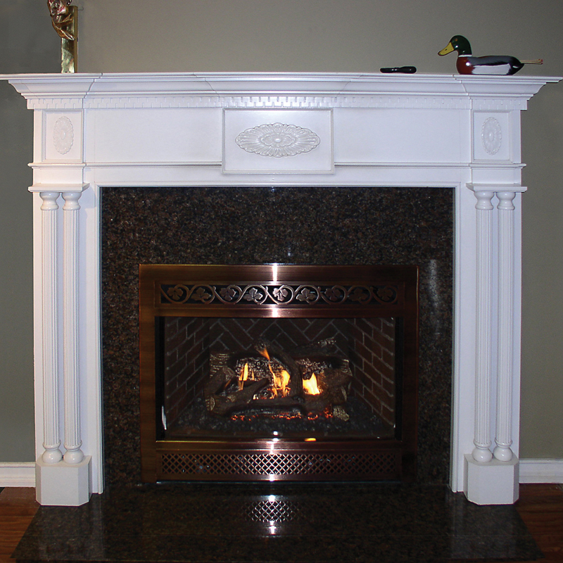 Custom Made Mantelpieces Li Custom Wood Fireplaces Long